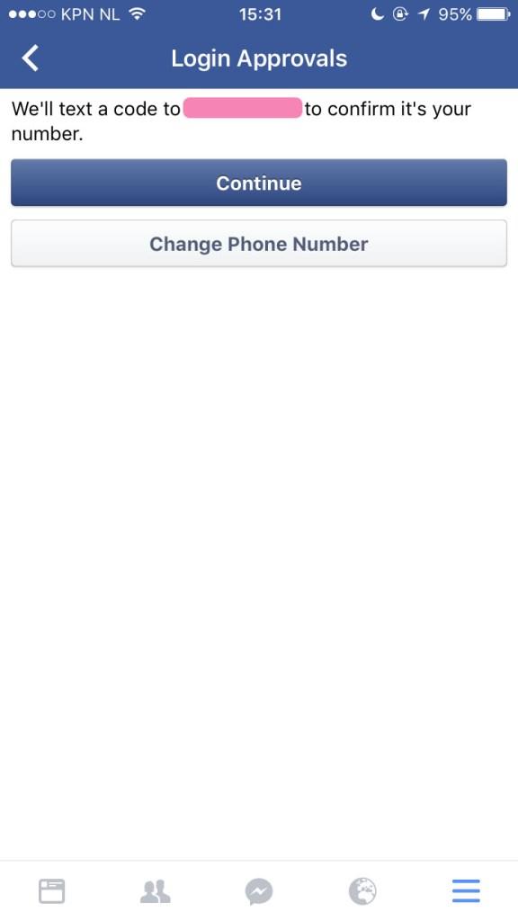 step 2 Facebook