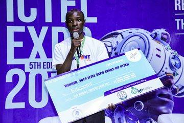 ICTEL Expo 2019 Pitch winner