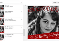 How to add Valentine 's Day Filter or Frame to Facebook Display