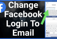 change facebook number to email