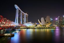 What kind of hub can Singapore be in a digital economy where everyone works remotely?