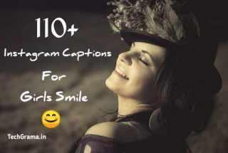 instagram captions for girls Smile