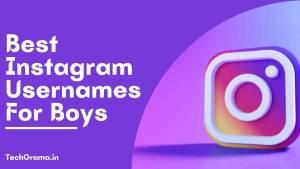 ▷ 930+ New Best Instagram Usernames For Boys (2021)