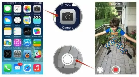 capturing pciture while recording video with iPhone