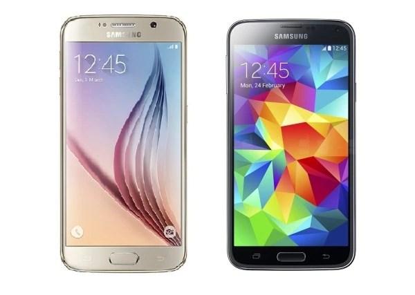 Galaxy S5 VS Galaxy S6