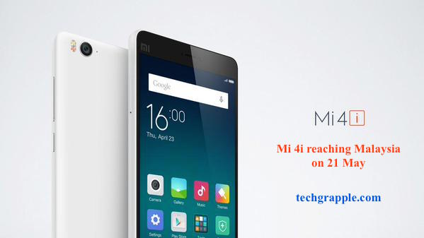 Mi 4i laucng date in malaysia