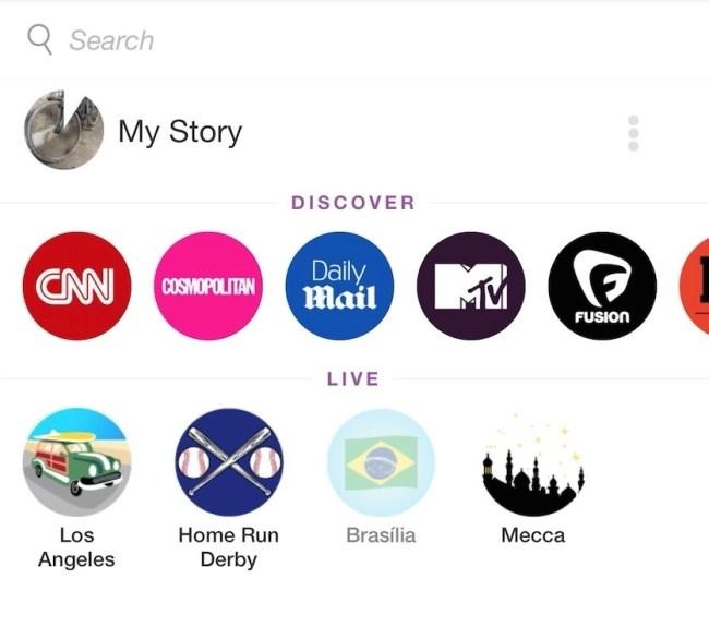 SnapChat's Mecca Live
