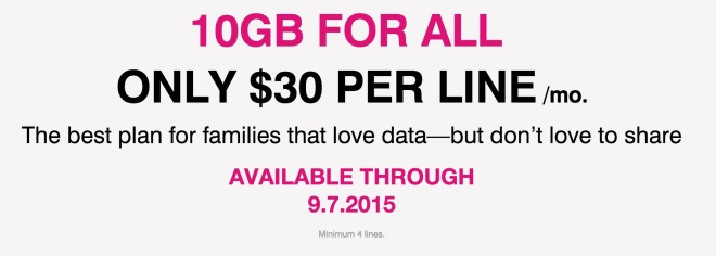 T-Mobile 10GB Data Promotion