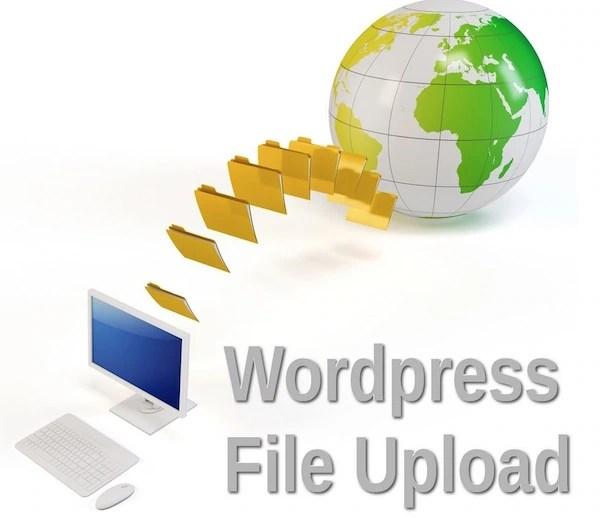 Upload free large files on wordpress blog