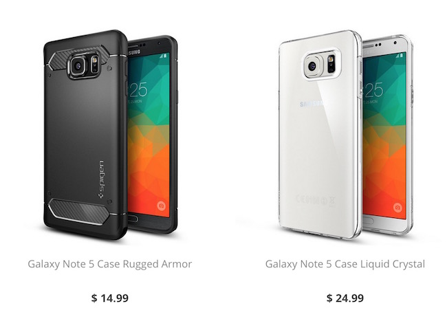 Buy Cases for Galaxy Note 5