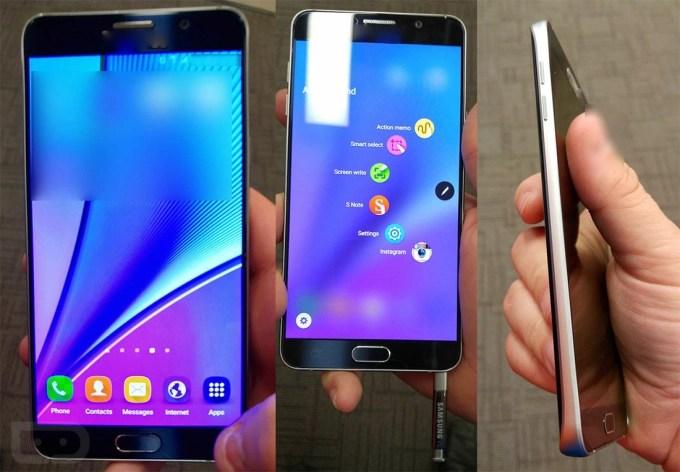 Samsun Galaxy Note 5 leaked Image