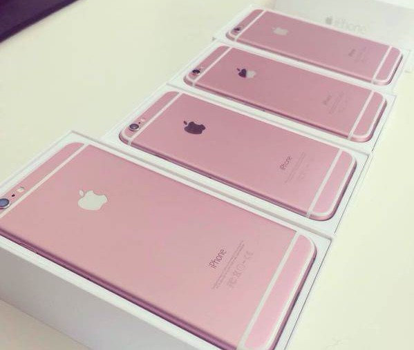iPhone 6S rose gold images