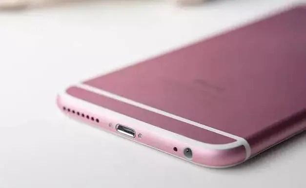 iPhone 6s rose gold leak