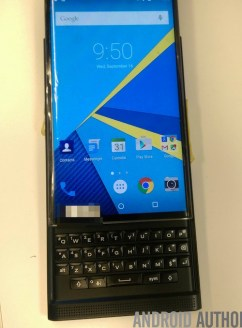 Android based blackberry venice keyboard