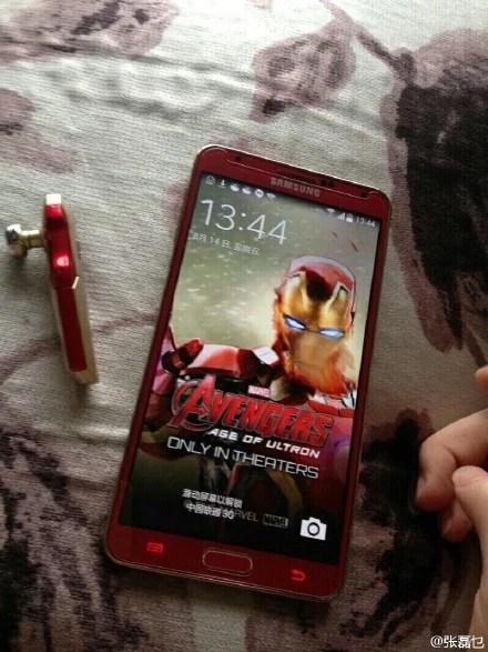 Note 3 Iron Man variant