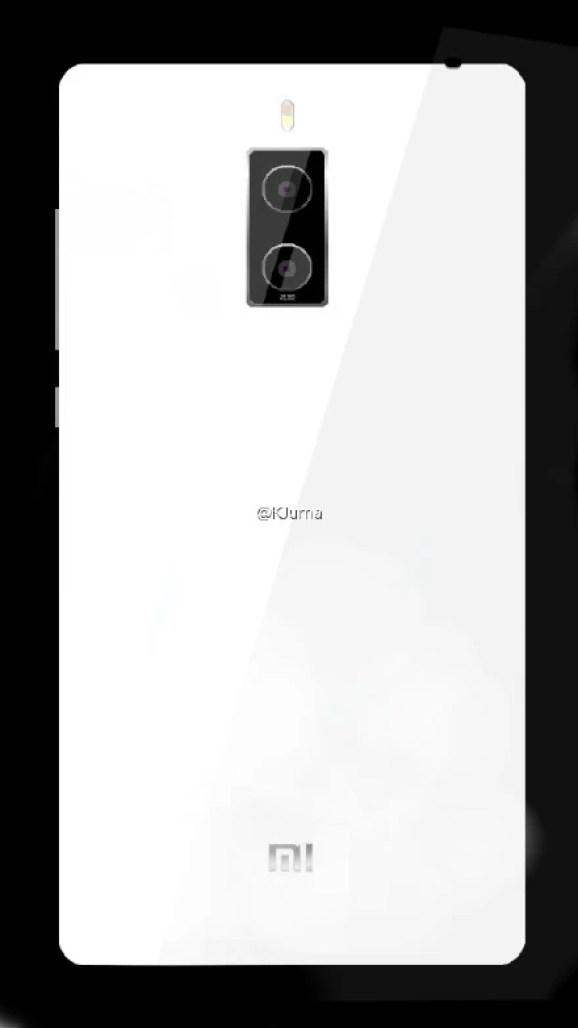 Xiaomi Mi Note 2 rendering image