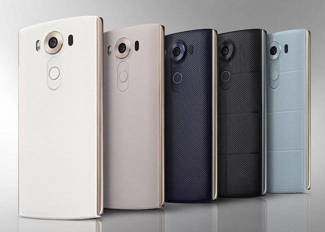 LG V10 Color Options