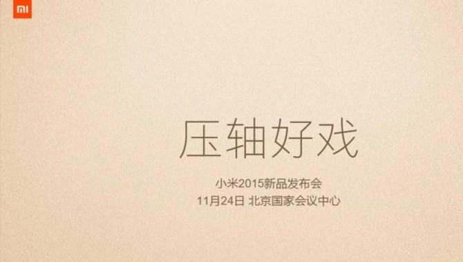 Xiaomi Mi event