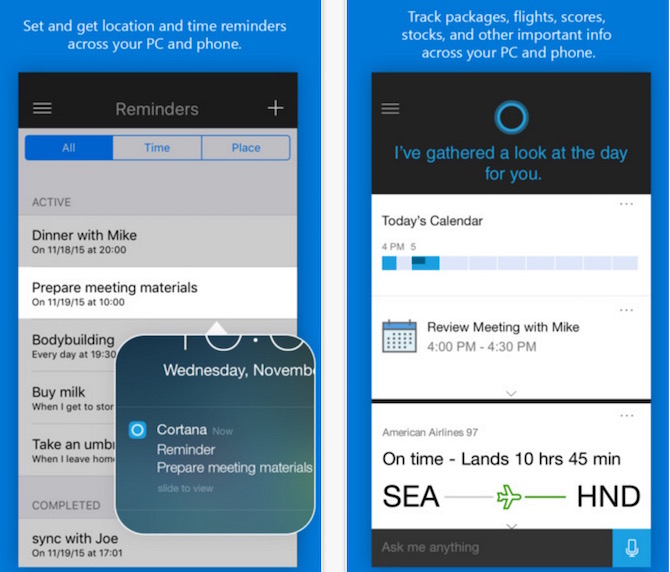 Download Microsoft S Cortana For Ios And Android Now