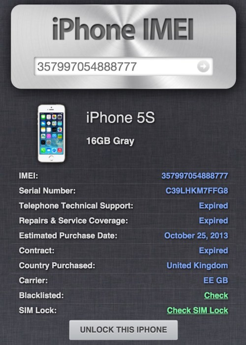 how to check what carrier my iphone is locked to