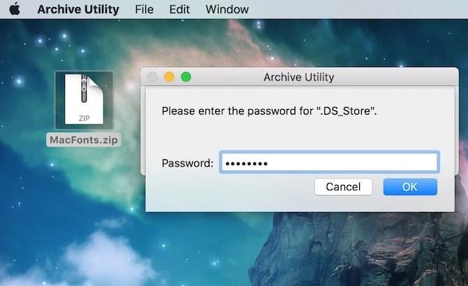 Mac OS X Password setting guide