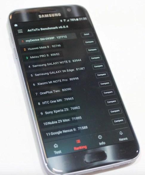 Exynos 8890 Antutu Galaxy S7