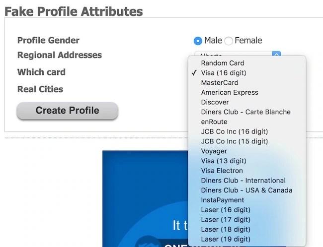 fake id data and name generator useful and fun