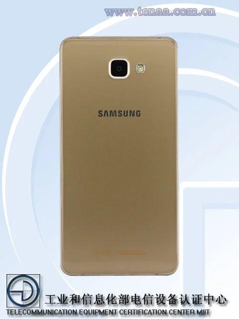 Galaxy A9 Pro back