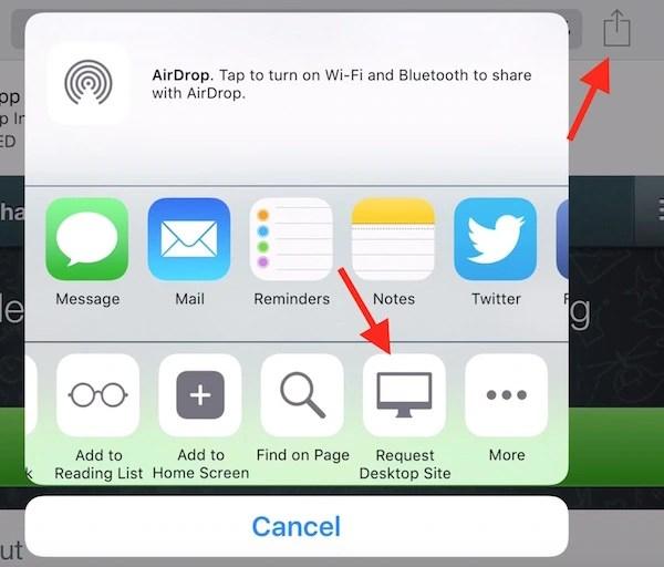 WhatsApp Web on iPad