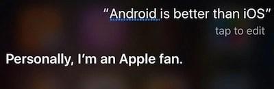 Android vs iOS Siri