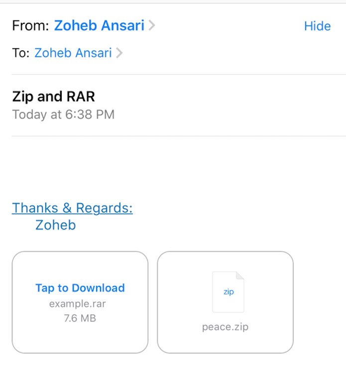 How to ZIP, UnZIP, UnRAR, Un7Z Files on iPhones/iPads