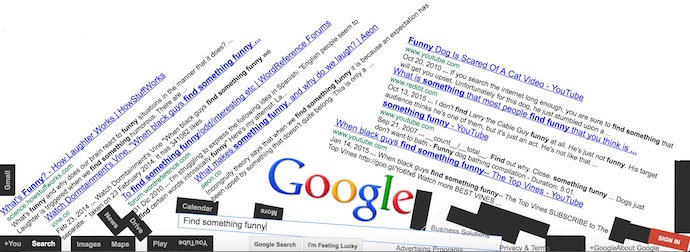 Google Gravity, Underwater, Space & Search tricks & tools
