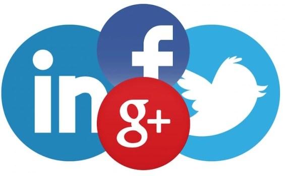 Google Plus FaceBook Linkedin Twitter
