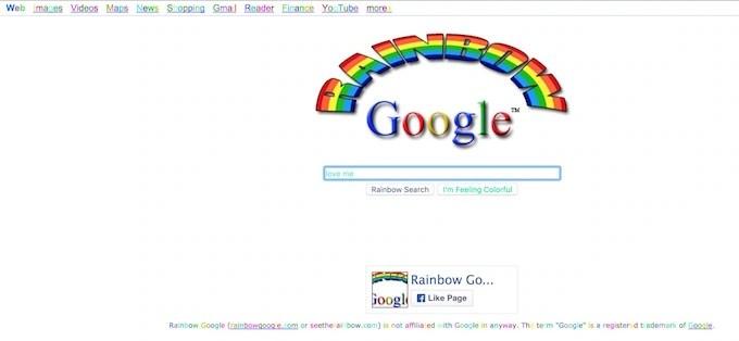 Google Rainbow