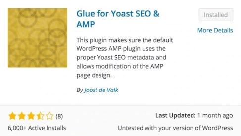 Yoast Glue AMP Plugin