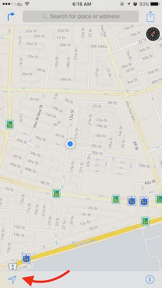 Apple Map 1