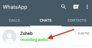 Disable Recording