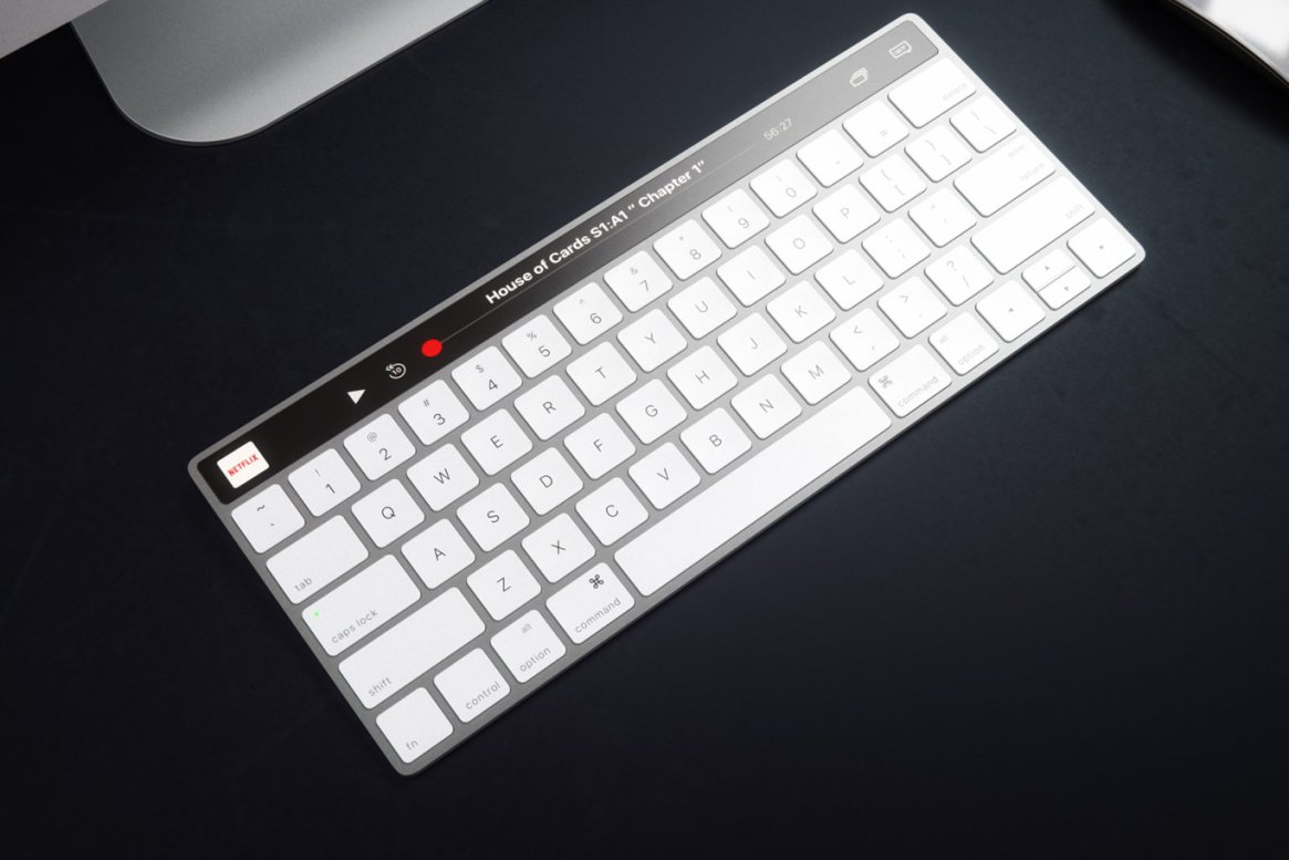 IMAC Keyboard with OLED Touch Bard 6
