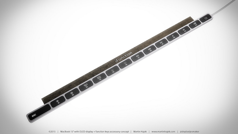 MacBook OLED Touch Bar Accessory