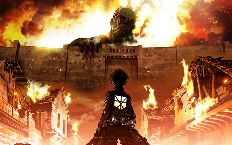 Attack on titan english dubbed Full Episodes from Season 1