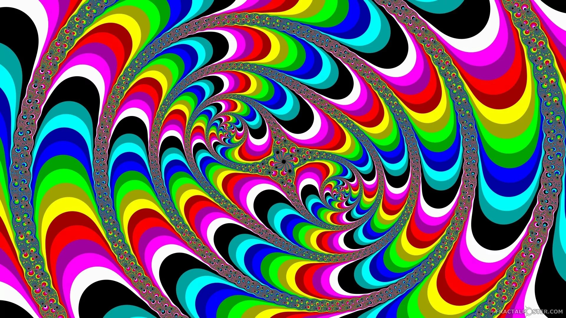 Cool Trippy Wallpaper Colorful