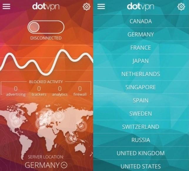 DotVPN Google Chrome Zenmate alternative