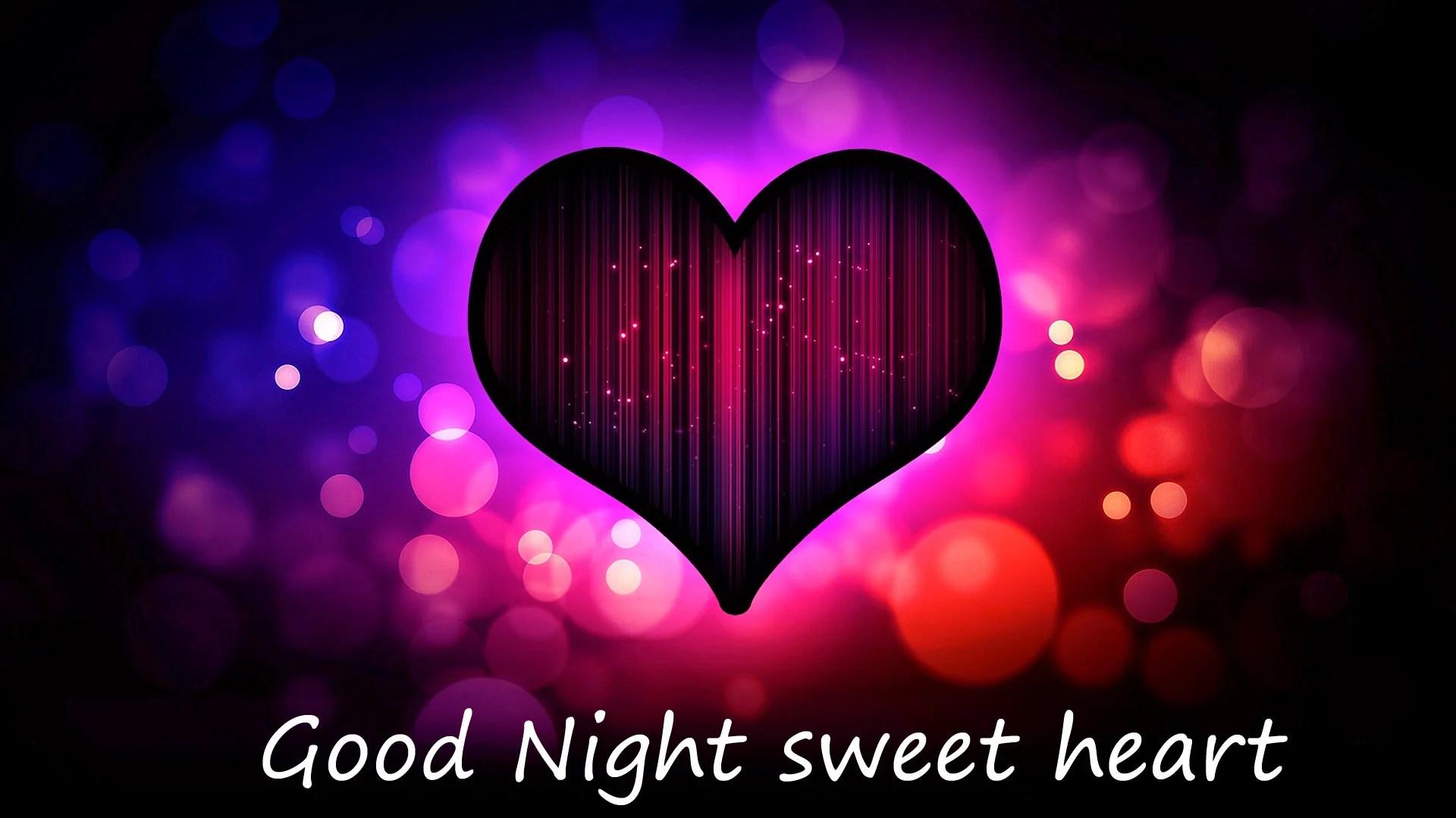 Good Night Heart love image