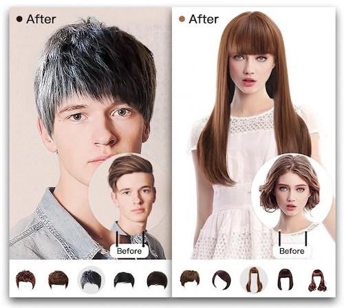 Insta Hair Style App