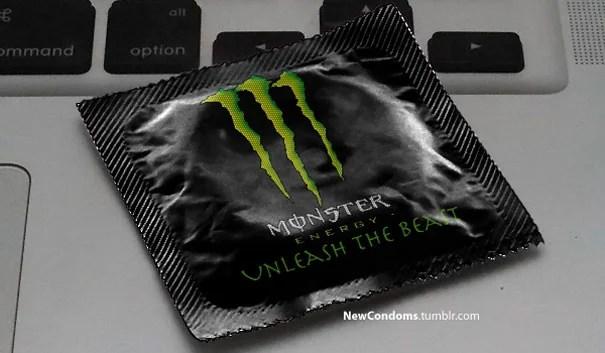 Monster condom