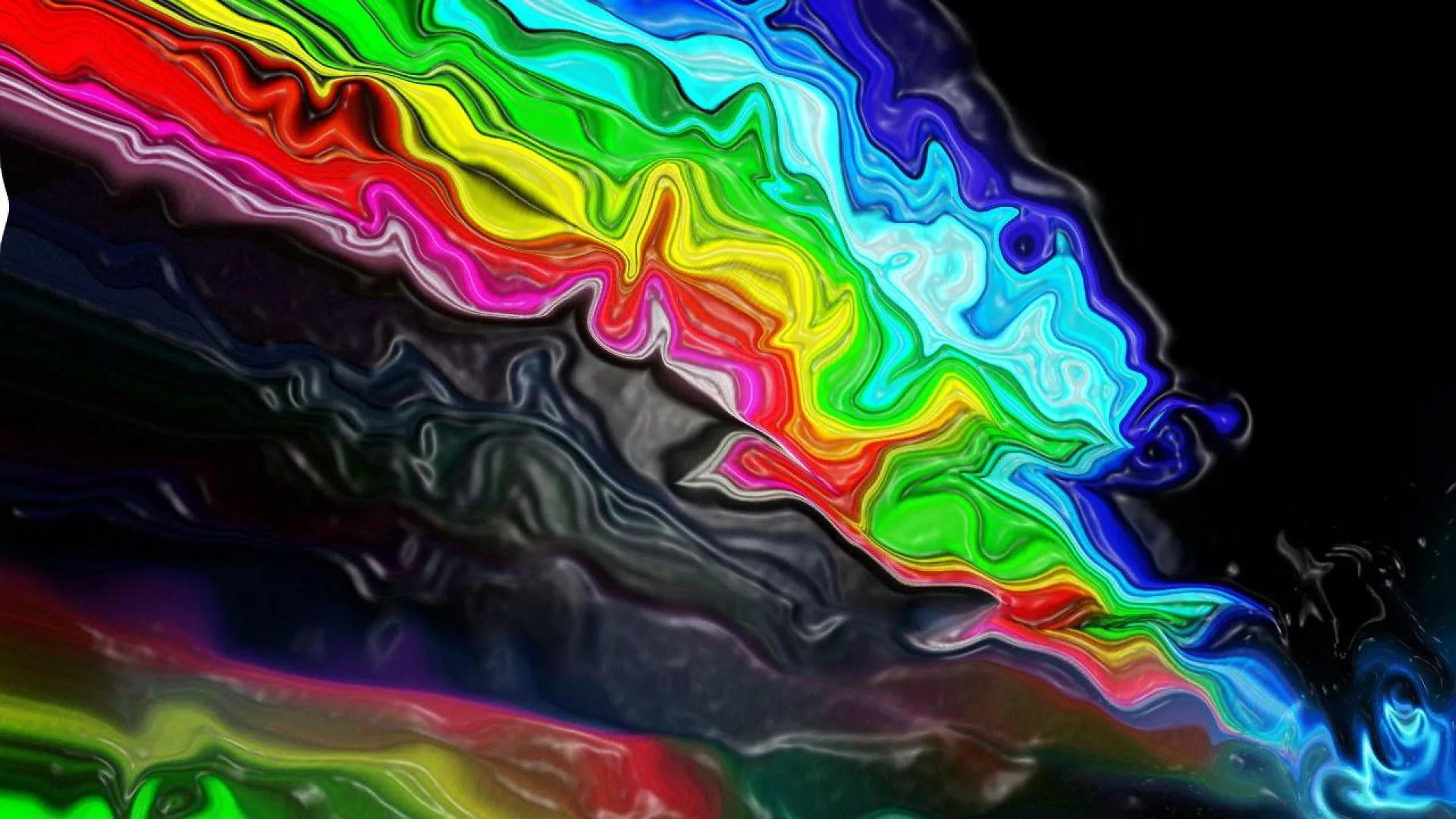 Psychedelic Wallpaper color liquid