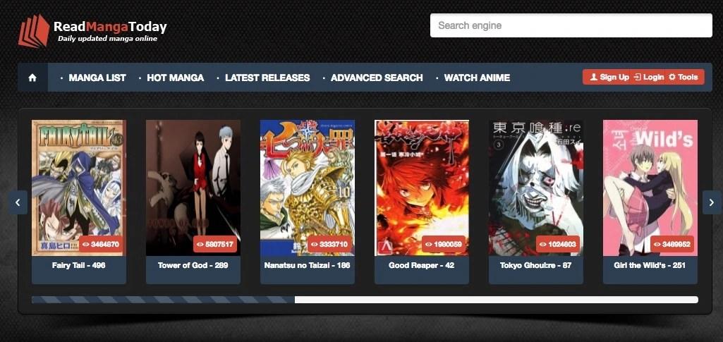 Read Manga Online on Manga Reader and ReadManga