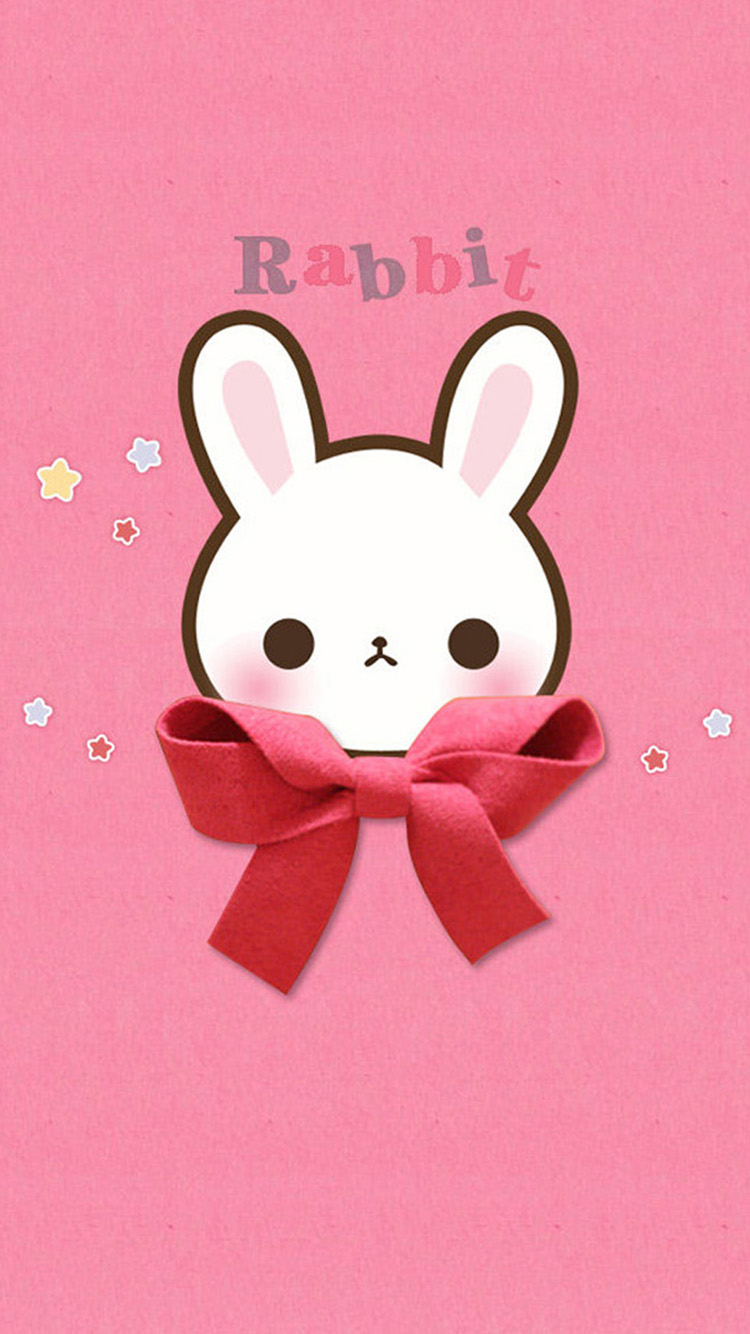 iPhone 7 cute rabbit wallpaper