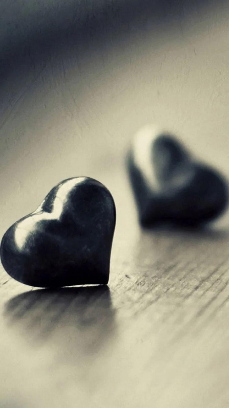 iPhone 7 heart wallpaper