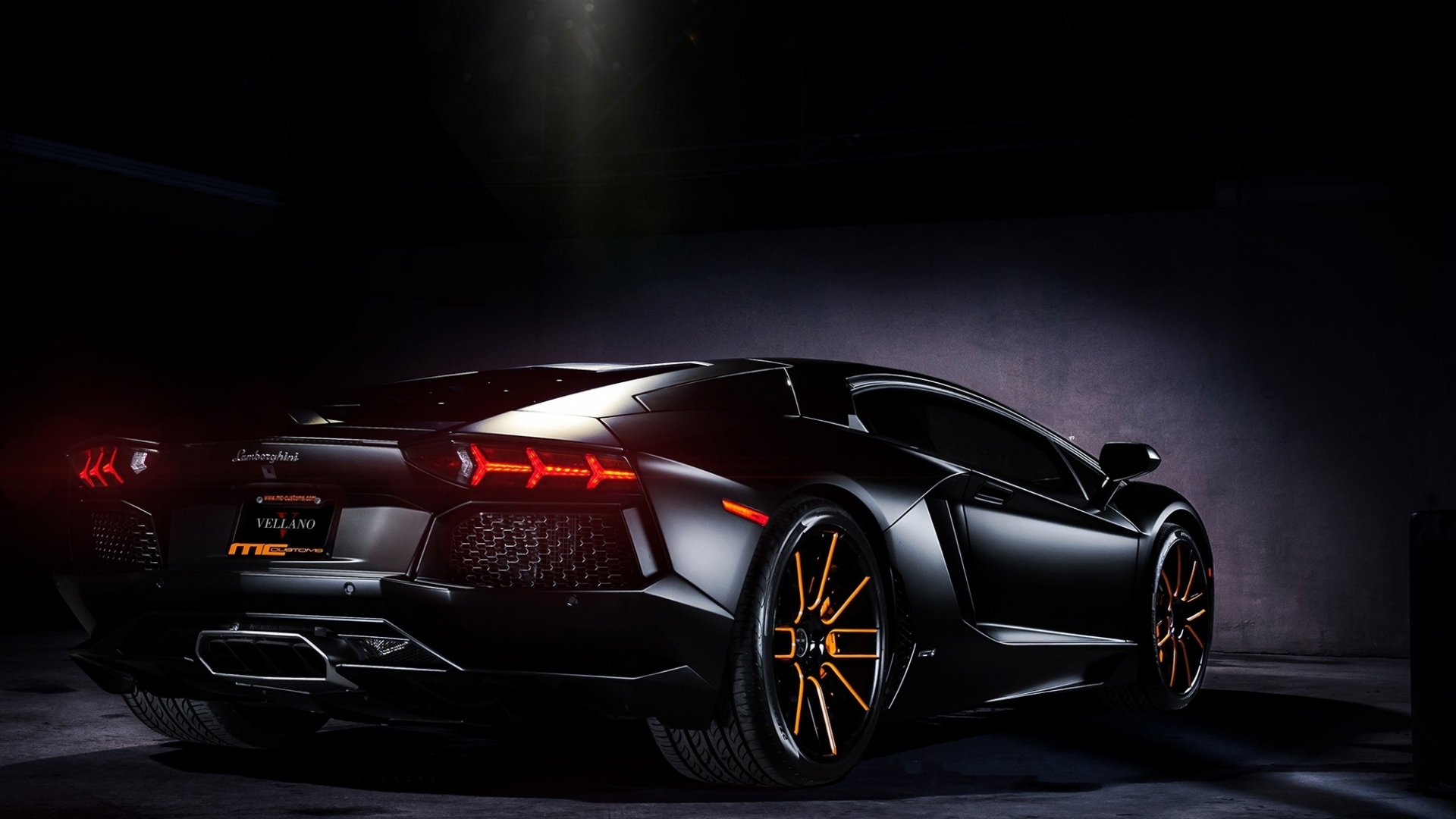 Amazing car with Black background
